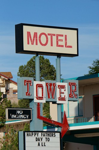 Tower Motel - Route 66, Santa Rosa, New Mexico