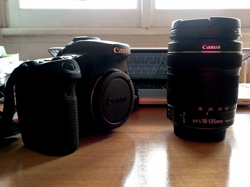 Canon 70D e obiettivo 18-135
