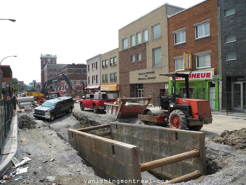 Frontenac Ontario construction 2