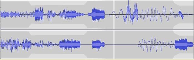 star chart audio wave
