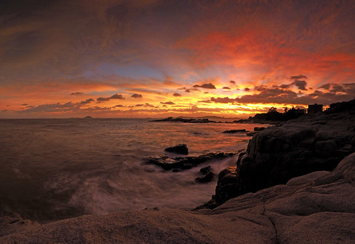 sunset cloudy 泉州 霞光 惠安 羚羊峡 浮山村