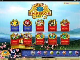 Lucky Emperor Casino Lobby
