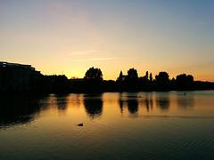 sunset in Copenhagen