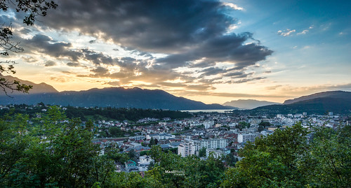 sunset france cloudy sony dreamy savoir aixlesbains 1018mm nex7 sel1018