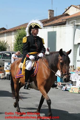 Bastille Day rider