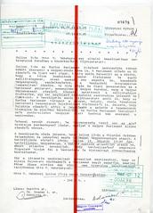 095. A bonni magyar nagykövet rejtjeltávirata Habsburg Ottó magyarországi magánlátogatásáról