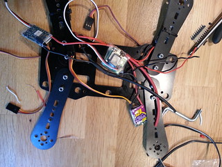 Power cables while soldering