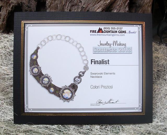 Belle Epoque - Swarovski jewelry making contest