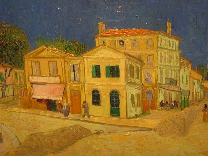 Van Gogh Yellow House