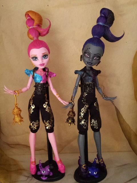 Monster High Custom Whisp Gigi 13 W 252 Nsche 13 Wishes