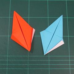 วิธีพับกระดาษเป็นถาดใส่ขนมรูปดาวแปดแฉก (Origami Eight Point Star Candy Tray) 016