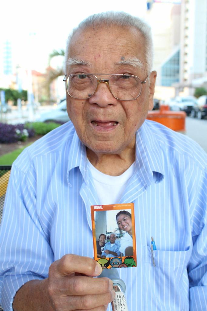 Polaroids with Grandpa