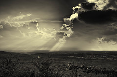 A storm in the distance, Bear's Den, Clarke County, Virginia