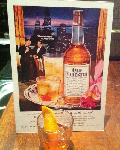 Old Forester, Southern hospitality in a bottle