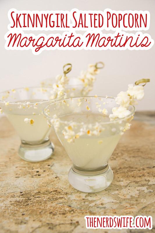 Skinnygirl Salted Popcorn Margarita Martinis #SkinnyGirlSnacks #Shop