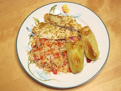 Stuffed peppers with tilapia