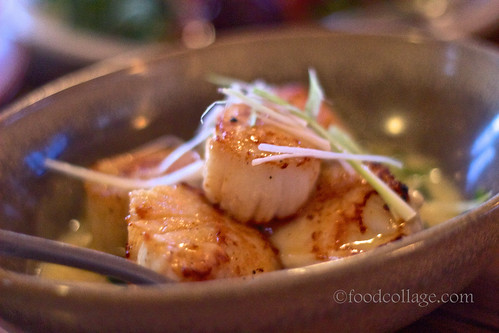 Pan Seared Day Boat Scallops at The Slanted Door (San Francisco)