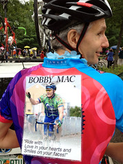 Bobby Mac—my mentor and hero—had my back throughout the ride.