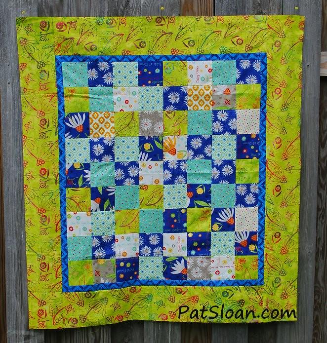 pat sloan scrap square quilt 13