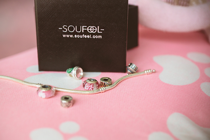 Olga choi fashion blogger myblondegal  Korea Soufeel charm bracelet 925 silver-00261