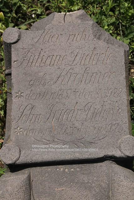 Bolnisi, German tombstone