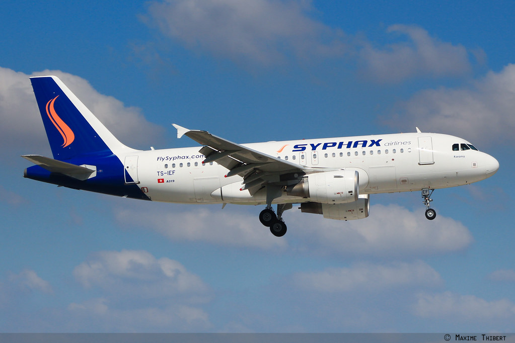 Orly A319 TS-IEF Syphax