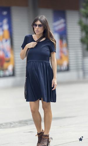 street style blue C&A dress 01