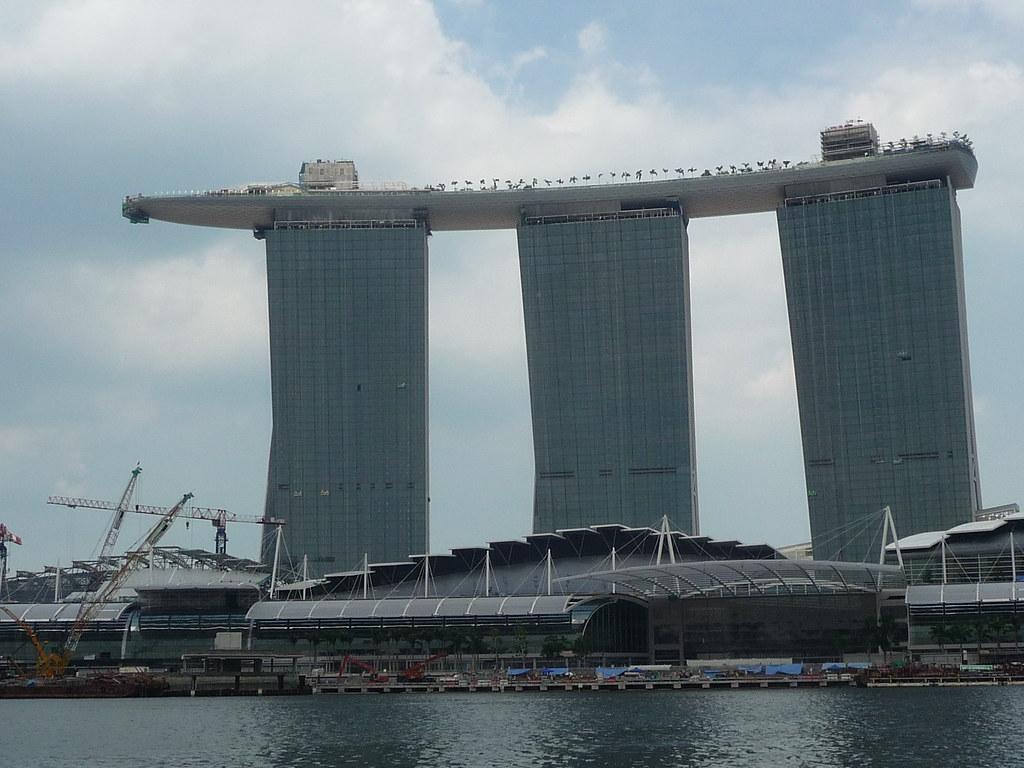 Singapour - architecture- le fer à repasser