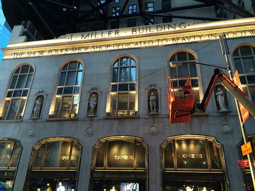 I. Miller Building (side)