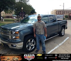 Congratulations to Kinneth Sluder on your #Chevrolet #Silverado 1500 purchase from Dewayne  Aylor  at Four Stars Auto Ranch! #NewCar