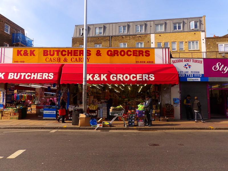 ethnic groceries, Peckham