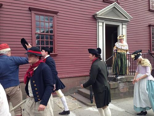 18th century people at Want-Lyman-Hazard House