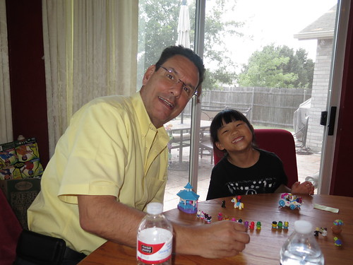 Papa & Grandma Visit July 2014