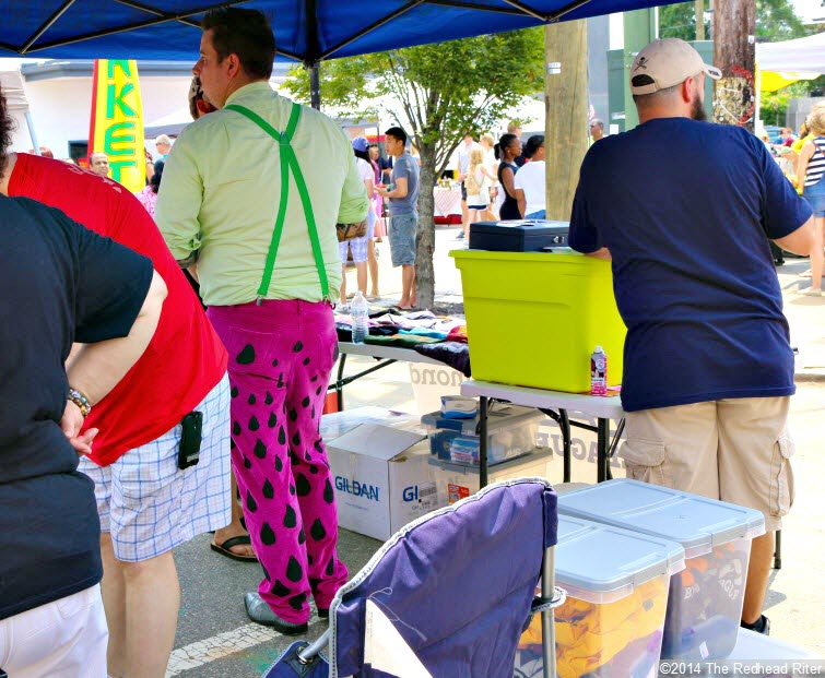 31st Annual Carytown Watermelon Festival,  Richmond, Virginia - watermelon clothes