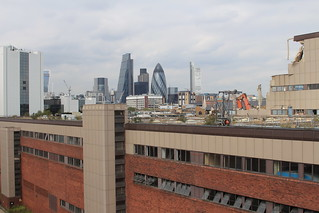 News International and City of London skyscrapers