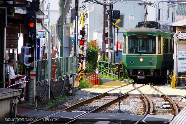 江ノ電 江の島駅1