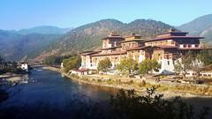 Most beautiful dzong in Bhutan