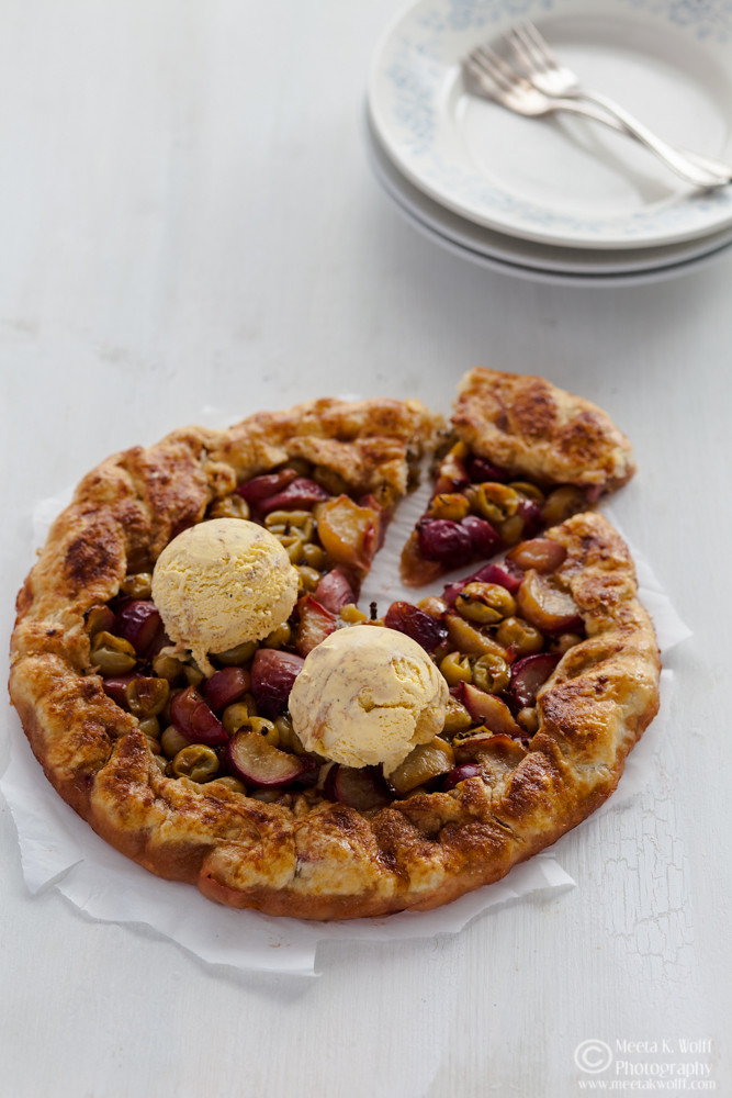 Oh lala! What can I say - this fruity and flaky galette makes the ...