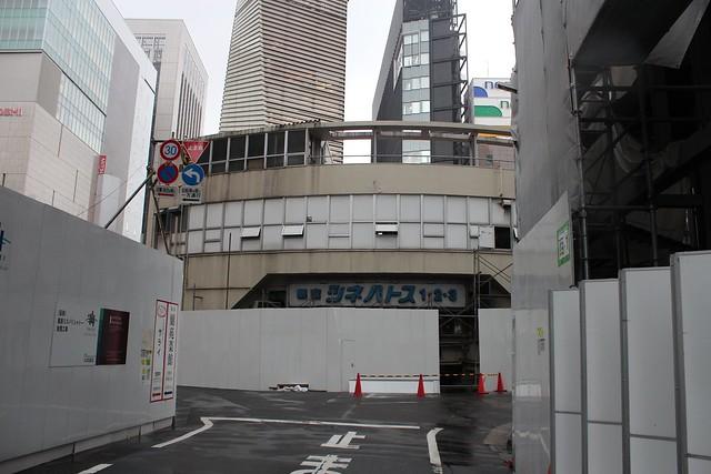 土浦亀城作の三原橋センター解体中 (31)