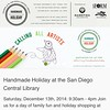 Just applied to this upcoming show at the San Diego Central Library!  You can check it out and apply at sdfocl.org! #sdfocl #handmadeholiday