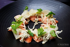 20140901-12-Salmon with smoked apple at Westend Pu…