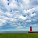 Cloudy Milwaukee Harbor