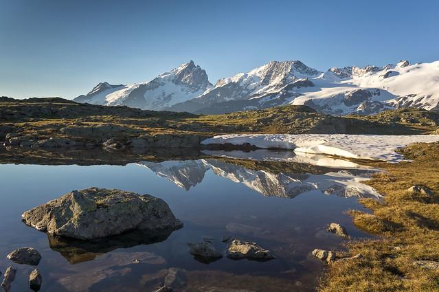 La Meije - Alpes, Sony NEX-5N, Sigma 19mm F2.8 [EX] DN