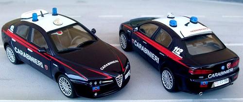 Autoparco Alfa Romeo 159 Carabinieri_StanAg