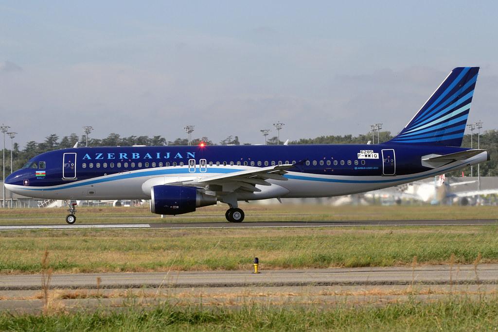4K-AI07 - A320 - Azerbaijan Airlines