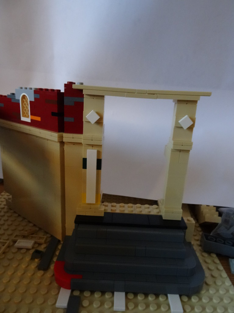 Brikkelauget • View topic - MOC av bygning, Munken prosjekt