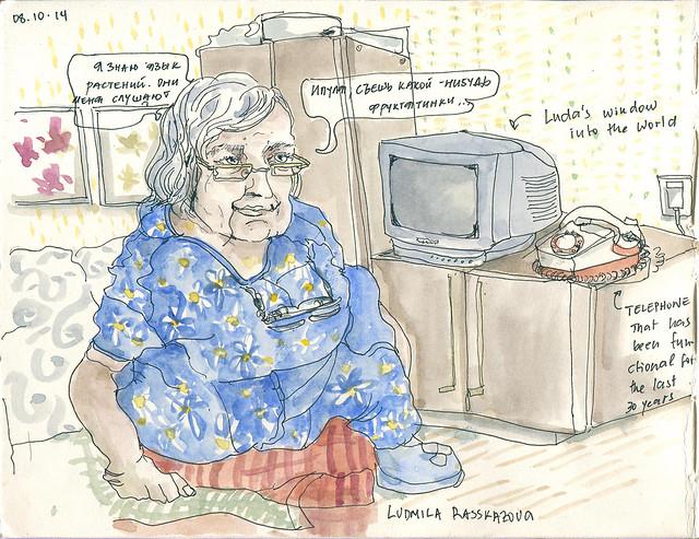 My grandmother, Ludmila