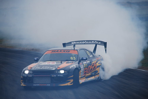 Ollie Elmore, Maxxis British Drift Championship, Anglesey 2014