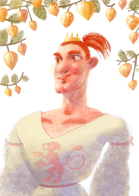 king Jarl and physalis