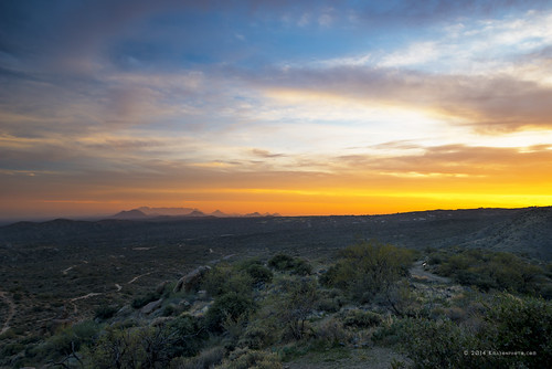 winter sunset arizona sky mountains clouds landscape unitedstates desert cavecreek tontonationalforest searskayruins